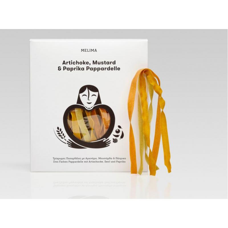 Artichoke, mustard & paprika pasta pappardelle 500g