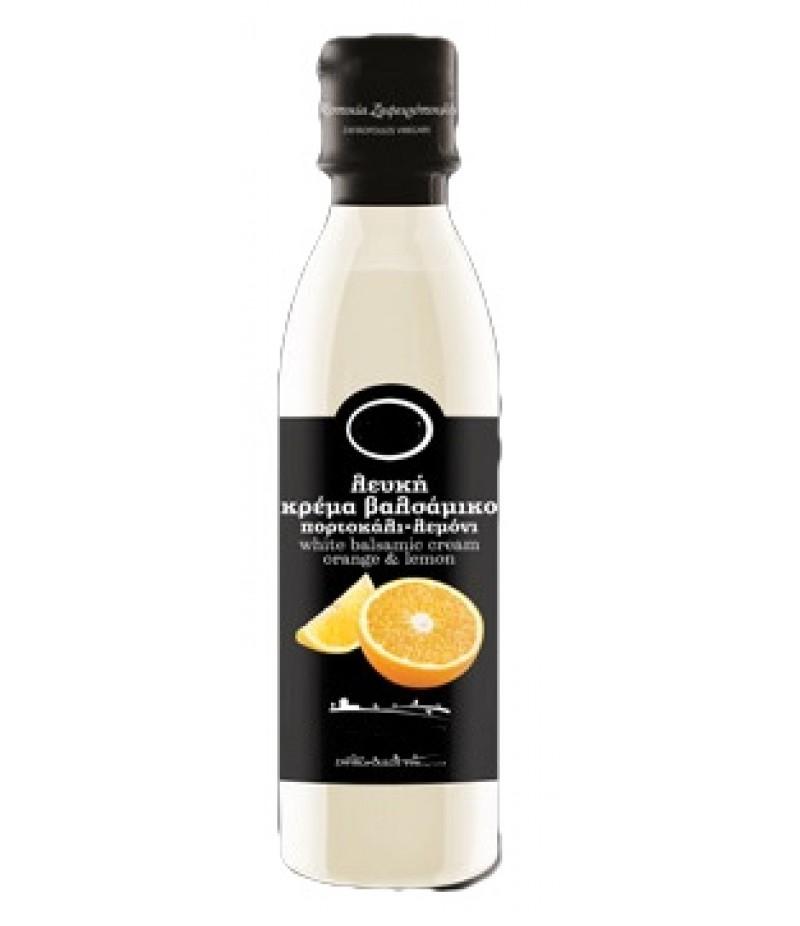Valge palsamikreem apelsini ja sidruniga
