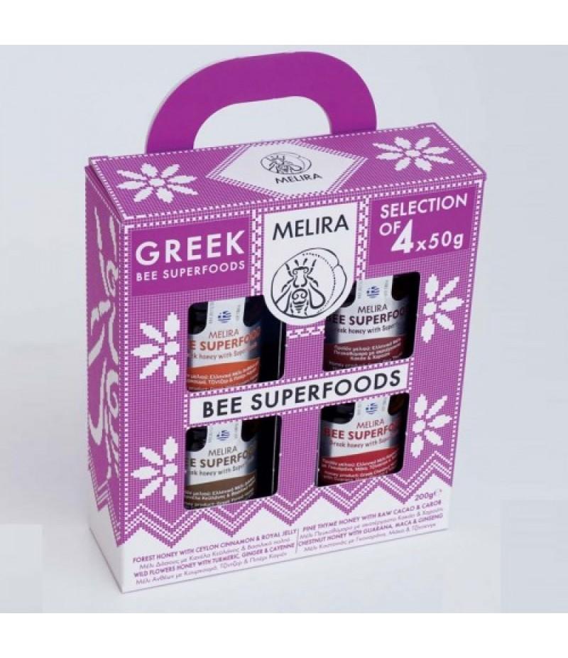 Bee Superfoods Honey Gift set