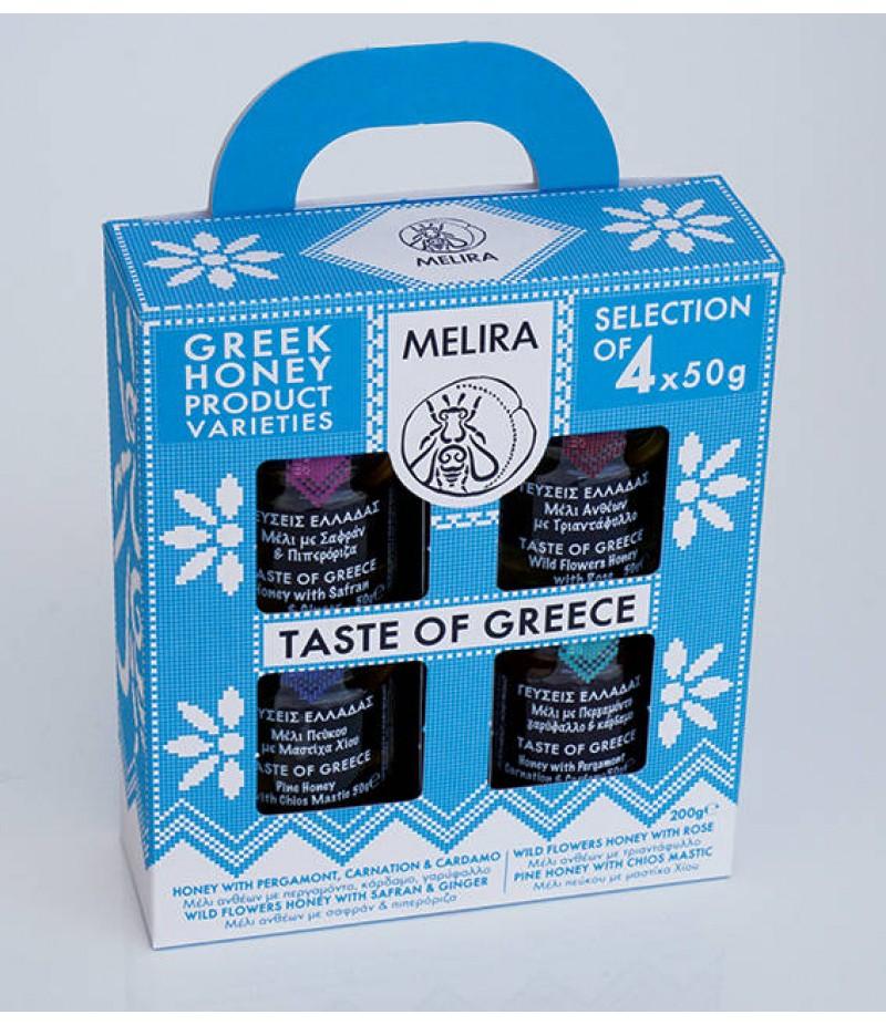 Taste Of Greece Honey gift set