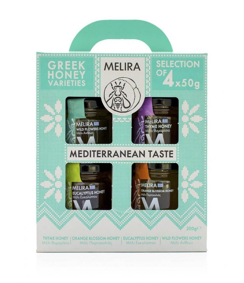 Mediterranean Taste Honey gift set
