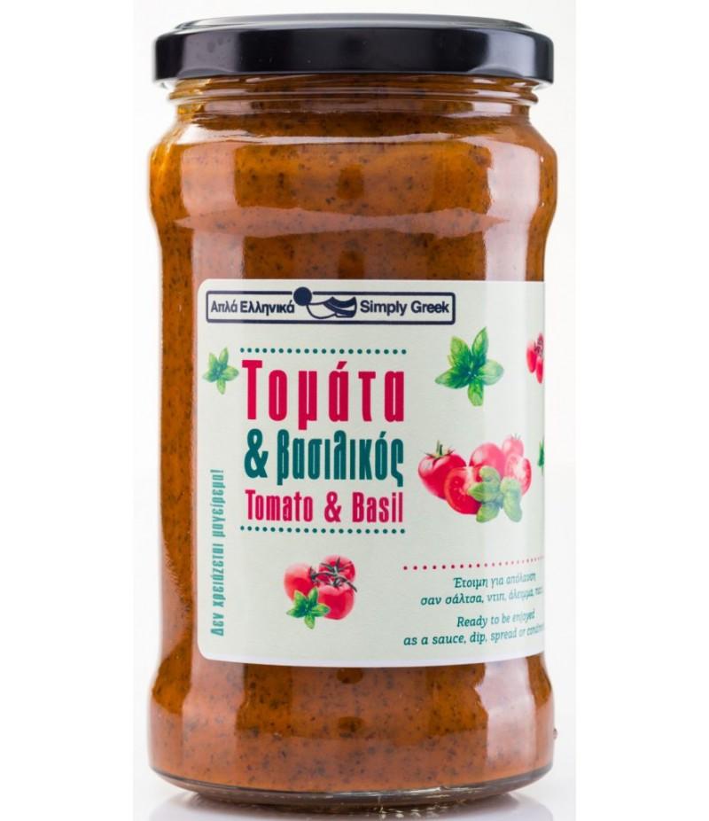 Tomati-basiiliku kaste 280g
