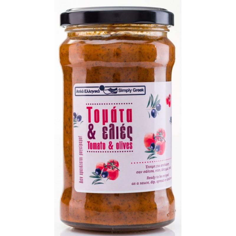 Tomati-oliivi kaste 280g