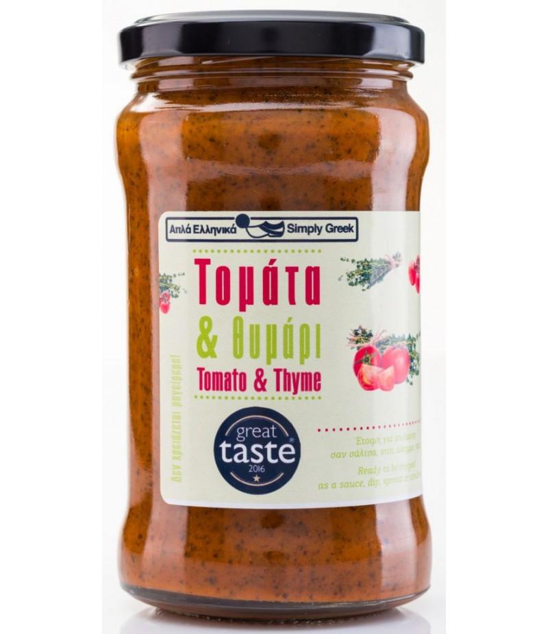 Tomati-tüümiani kaste 280g