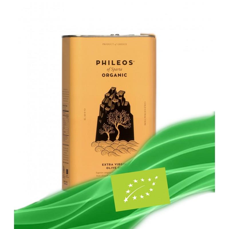 Orgaaniline ekstra-neitsioliiviõli ''PHILEOS OF SPARTA'' 3L