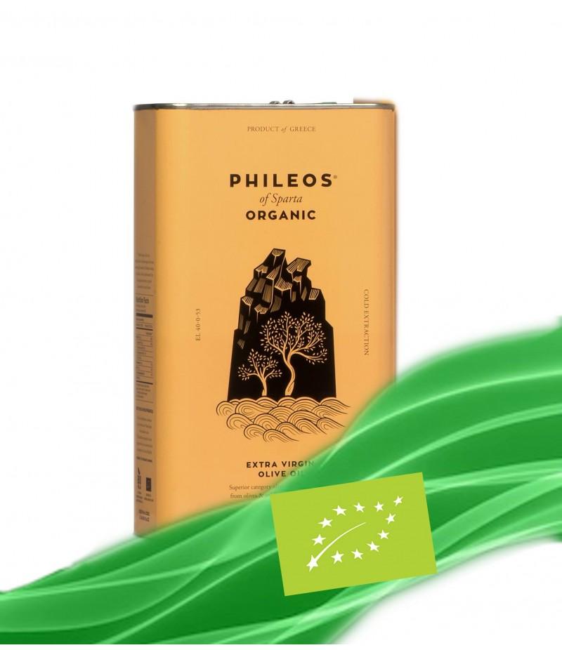 Organic EVOO ''PHILEOS OF SPARTA'' 3L