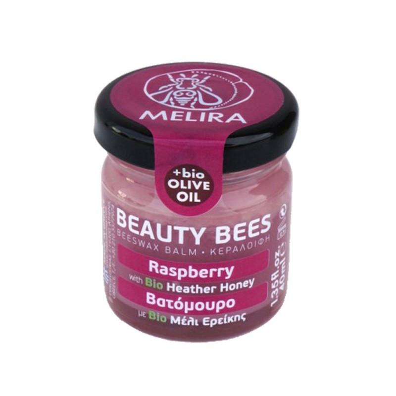 Beeswax balm Raspberry 40ml
