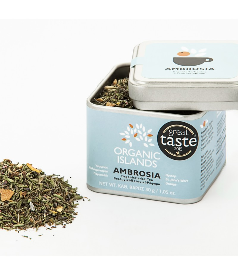 ''AMBROSIA'' Organic Herbal Tea