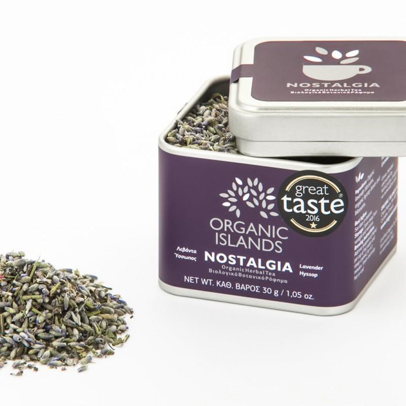 ''NOSTALGIA'' Organic Herbal Tea