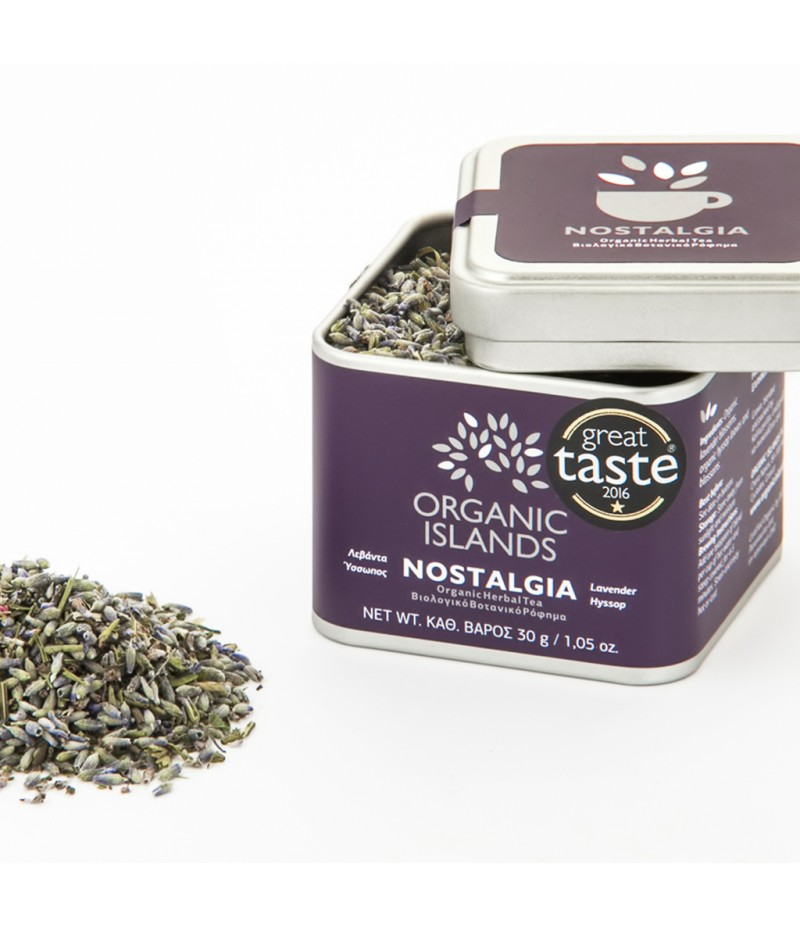 ''NOSTALGIA'' Organic Herbal Tea