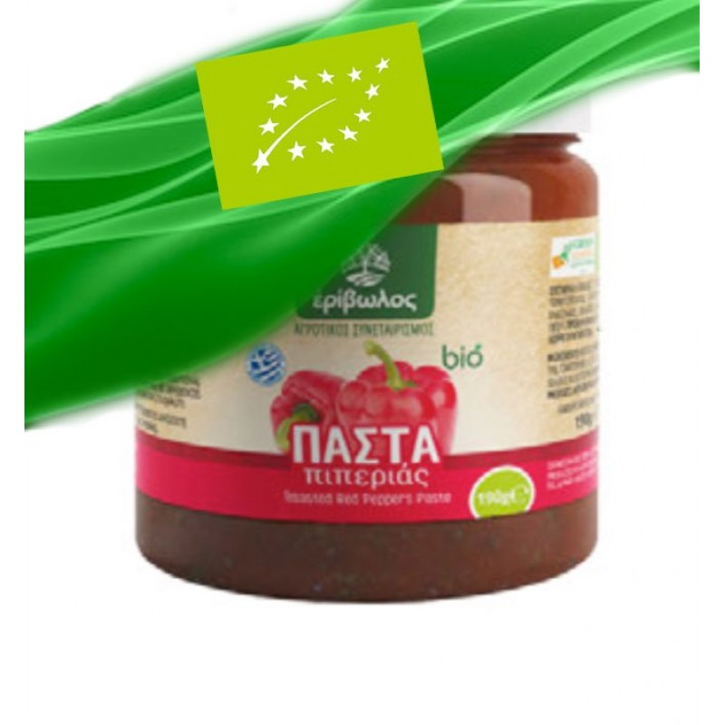 Organic - Red Pepper Paste 180g