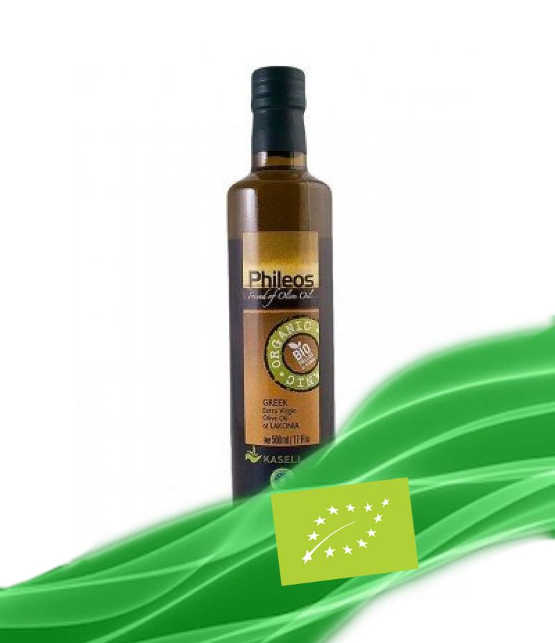 Organic EVOO ''PHILEOS OF SPARTA'' 750ml