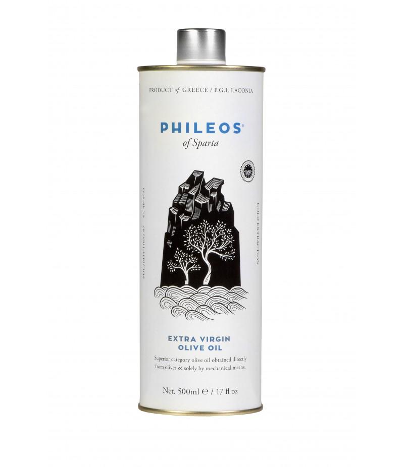 Ekstra-neitsioliiviõli ''PHILEOS OF SPARTA'' 500 ml