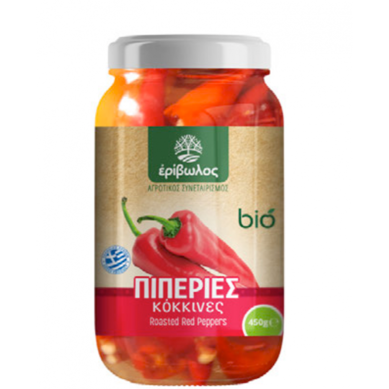 Organic - Roasted Peppers 450g