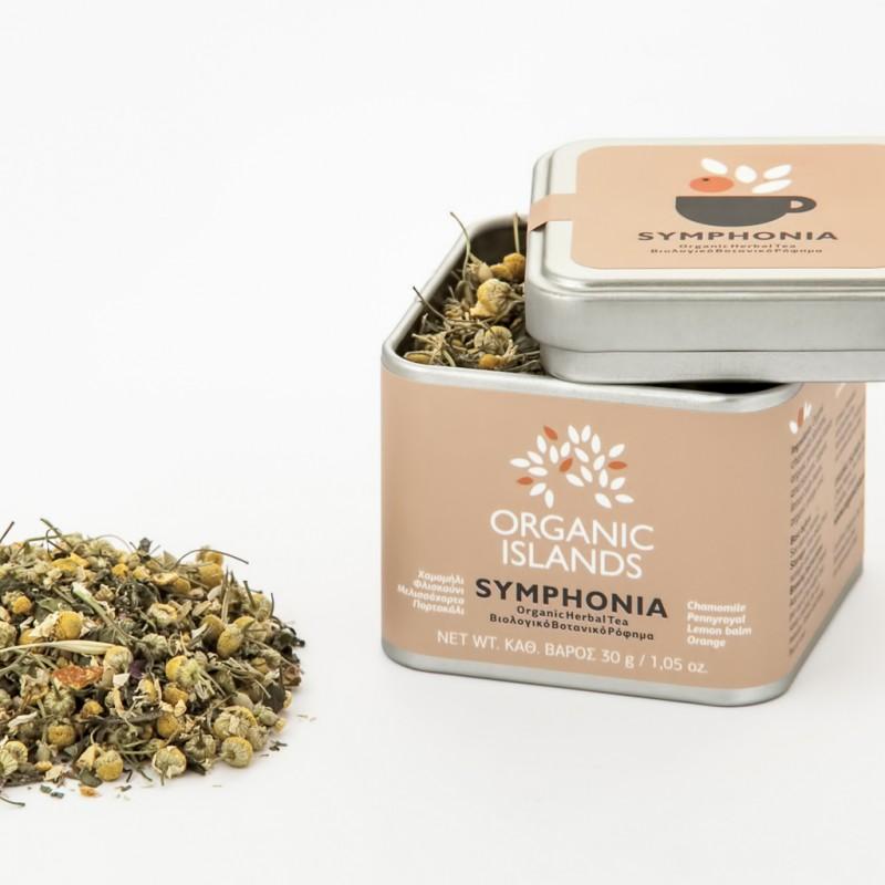 ''SYMPHONIA'' Organic Herbal Tea