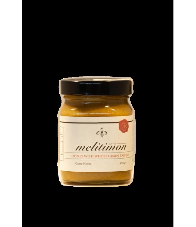 Honey with whole grain tahini