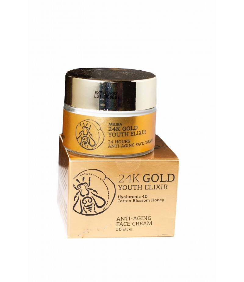 Melira 24k Gold Anti-Aging Face cream Elixir 50ml