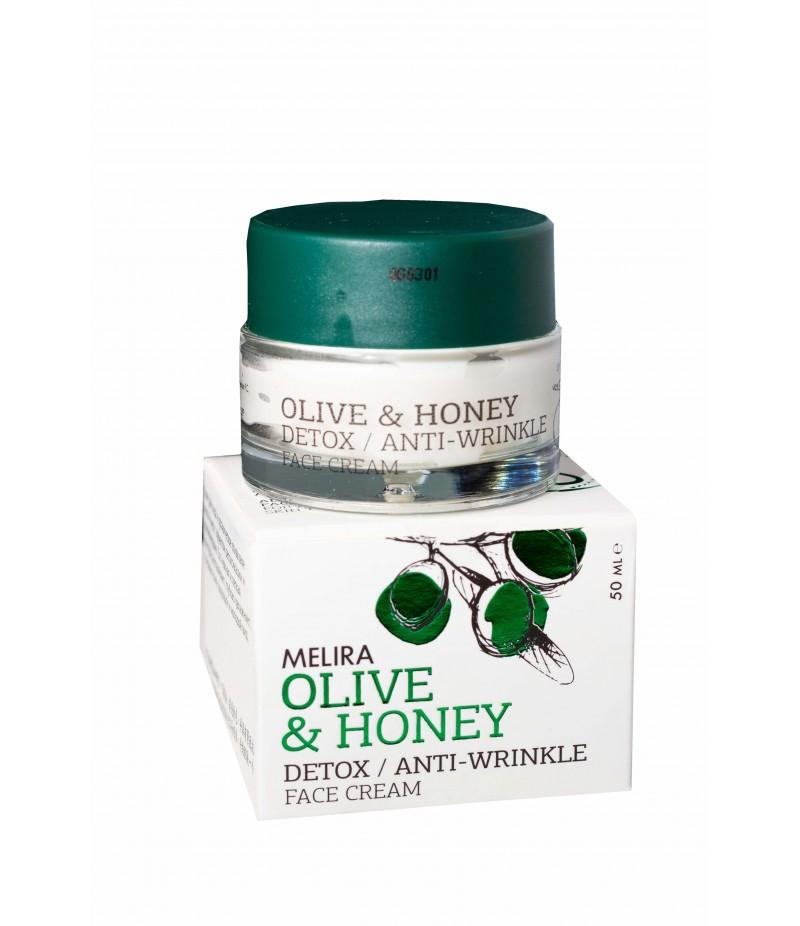 Olive & Honey Face Cream Anti- Wrinkle & Detox 50ml