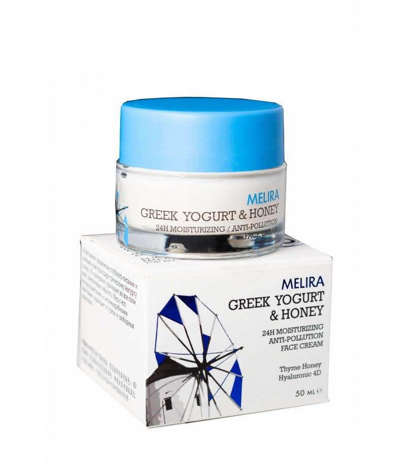 Greek Yogurt & Honey 24h Moisturising Face Cream 50ml